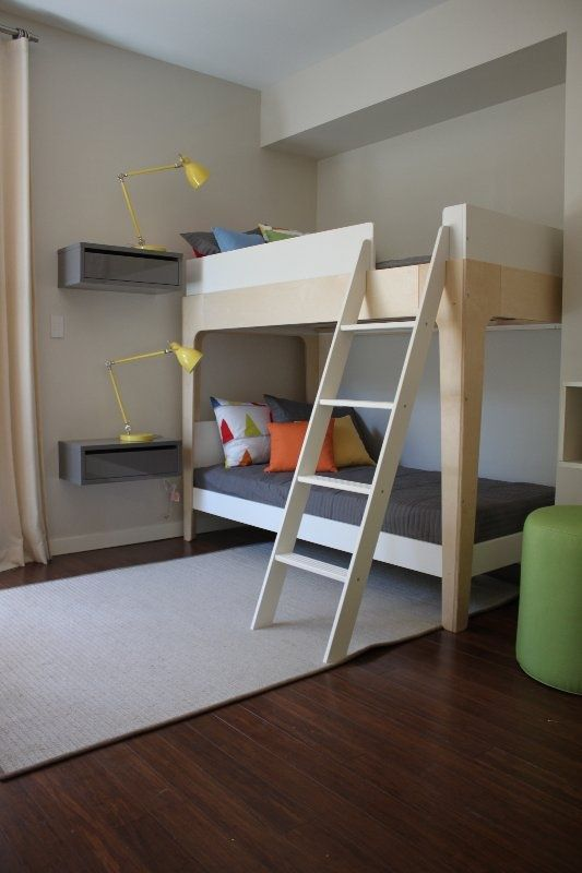 mommo design: Bunks for Boys... It's plain and simple but I like this #oeufnyc #perch