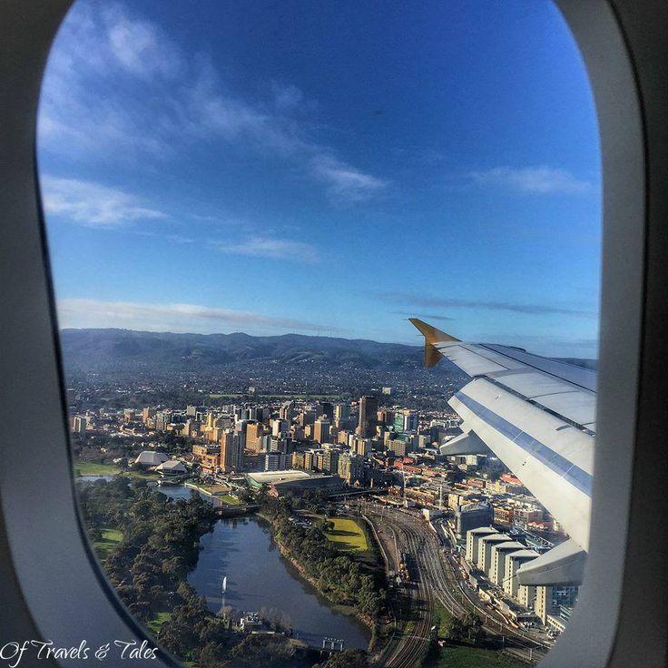 Ariel view of Adelaide South Australia Photo: Jill Varga
