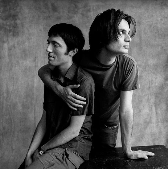 Colin and Jonny Greenwood