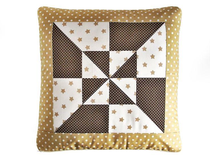 Návod na patchwork polštář - oboustranný