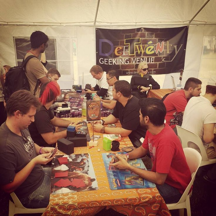 Magic and D&D at GeekFest