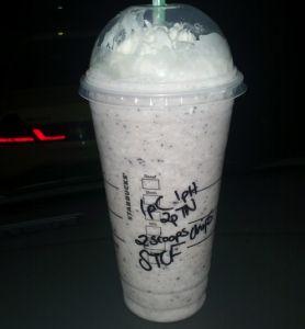 Starbucks Secret Menu: Captain Crunch Frappuccino