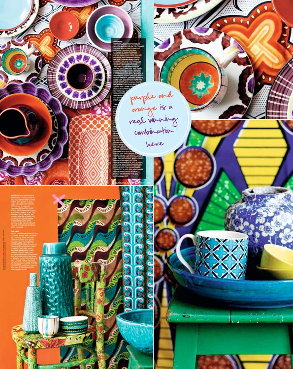 happy house stuff: Color Inspiration, Pattern, Clash Color, Color Mixed, Color Combinations, Complementary Color, Bright Colors, Color Boards