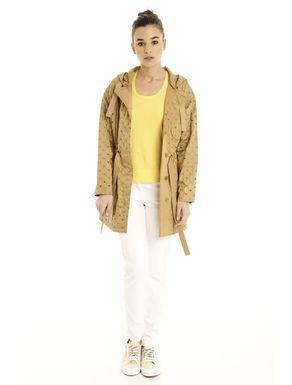 Prezzi e Sconti: #Impermeabile con ricami Bronzo chiaro  ad Euro 101.00 in #Aderito #Cappotti e giacche impermeabili