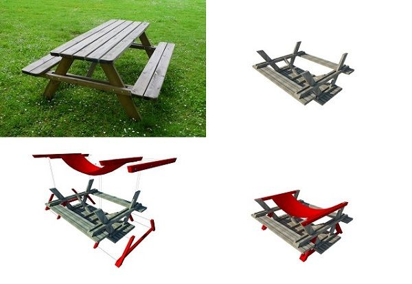 Picnic Table Hammock