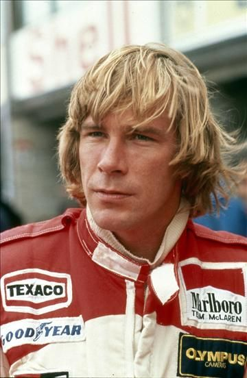 James Hunt (GBR). F1 World Champion 1976