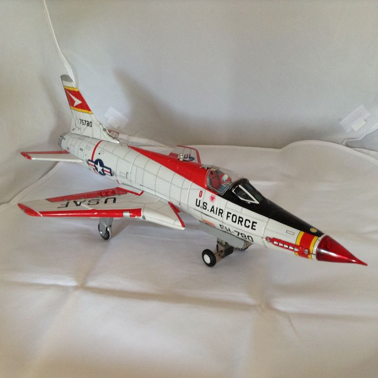 F-105 Thunderchief Tin Toy circa 1970