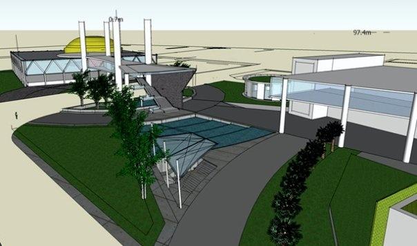 Concept-Lombok Islamic Center| Sketchup