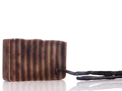 Vanilla scent soap Relaxes the body, hydrates and treats the skin.
