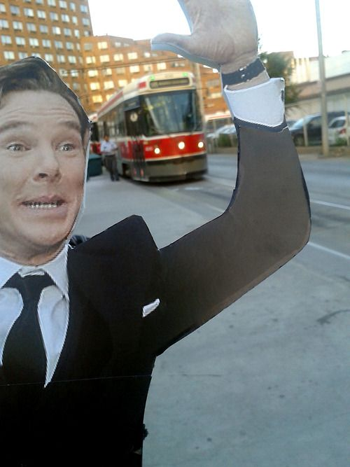 Benedict Cumberbomb Cumberbatch sees Toronto to the best of his ability while TIFF keeps him busy.