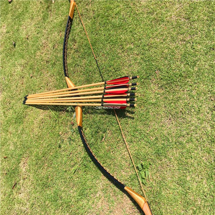 Longbows 181294: Hunting And Archery Competitions 20-60Ibs Longbow Bow + Wooden Arrow -> BUY IT NOW ONLY: $69.99 on eBay!