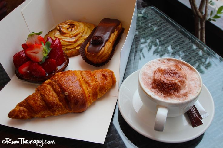 Sarafina's Bakery, Marigot, St. Martin - excellent place to stop for french pastry and cappuccino! Click for more info!