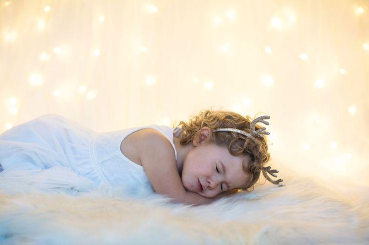Portrait photoshoot / photography  / christmas / christmas lights / lights / Rudolph / reindeer