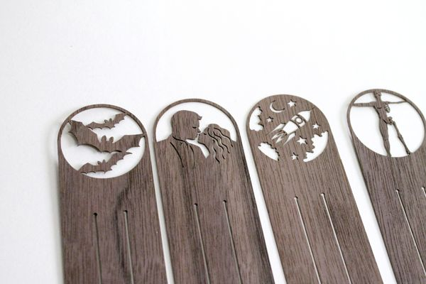 designimdorf wooden bookmark Lesart