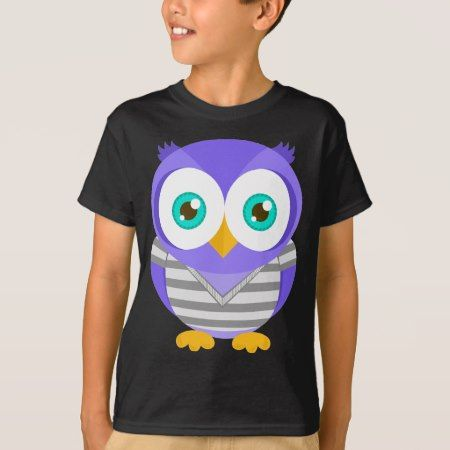 Larry the Purple Owl (Original) T-Shirt - tap, personalize, buy right now!