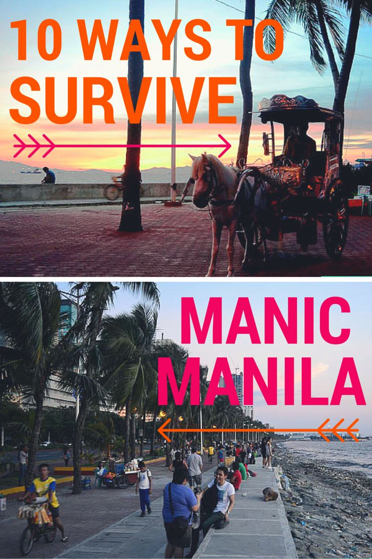 Our 10 tips to help you survive in the bustling city of Manila.