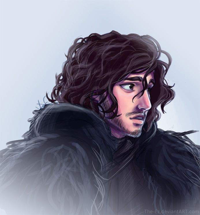 Jon Snow is Sad by ~The-Ez on deviantART (but at least he's pretty) #asoiaf