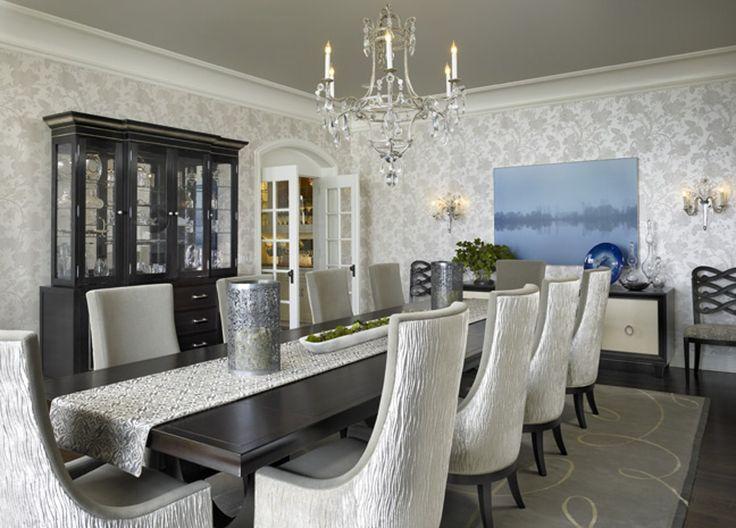 Dining  Transitional by JamesThomas Interiors