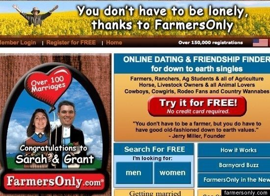 Free online farmers dating sites