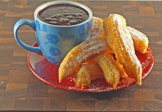 How delicious do this recipe sound? Churros con Chocolate