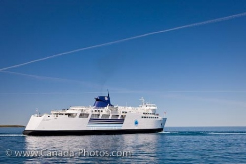 Chi-Cheemaun is a passenger and vehicle ferry that provides transportation between Tobermory on the Bruce Peninsula and Manitoulin Island in Lake Huron, Ontario, Canada