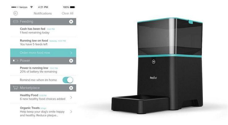 Aplicatia si aparatul automat de hranire
