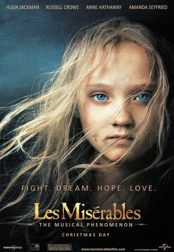 Les Miserables - a film with a truly Catholic theme: grace and selfless giving.
