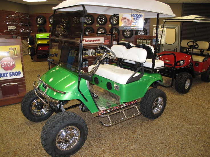 17 best garage images on pinterest home ideas carriage for Golf cart garage door