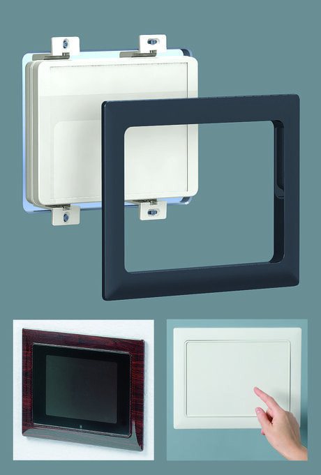 OKW has extended its Interface-Terminal plastic enclosures series with a new range of accessory kits which allow the enclosures to be flush-fitted in walls or control panels.