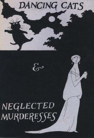 """""""Dancing Cats & Neglected Murderesses"""" - book cover by Edward Gorey"""
