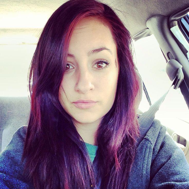 Dark Purple Hair Dye Box
