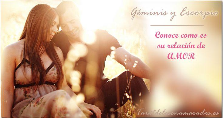 Géminis y Escorpio en el amor.  Averigua todo sobre esta relación tan popular y exitosa! #geminis #escorpio #signos #compatibilidades