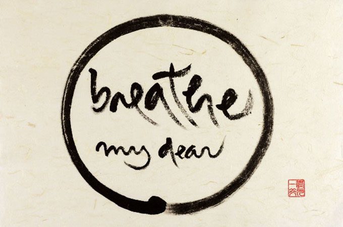Breathe My Dear by Thich Nhat Hanh, from This Moment Is Full of Wonders