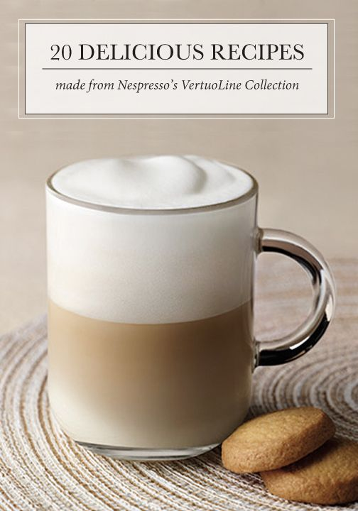 Experience a revolution in coffee with this collection of 20 delicious recipes—all made from Nespresso's VertuoLine coffee! Whether you enjoy creamy froth or robust aroma, you're sure to find your next favorite espresso treat.