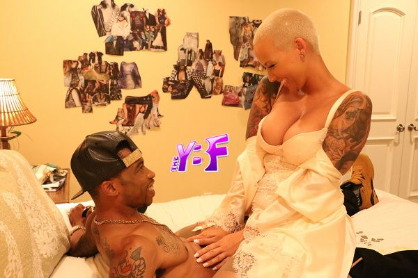 """EXCLUSIVE: Amber Rose Gets Intimate With Former """"Moesha"""" Star Marcus Paulk In New """"SISTER CODE"""" Film"""