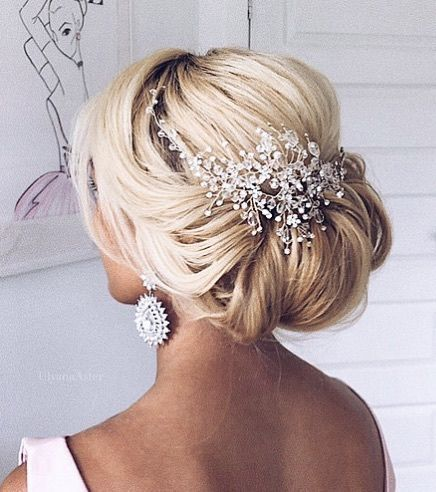 Beautiful Classic Updo Wedding Hairstyle By Ulyana Aster