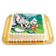 Tort cu Poza Tom&Jerry