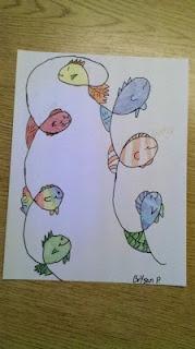 doodle fish