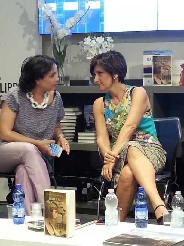 Mariateresa Cascino e Laura Donnini a Libreria Rizzoli a Milano - Basilicata