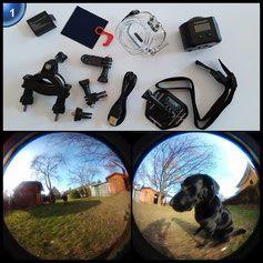 Bewertung: ✔ kompakt und wasserdicht, 220/360 Grad Erfassung ㅇ Video-Qualität ✘ Mini-Display … Rezension & Bilder & Video online