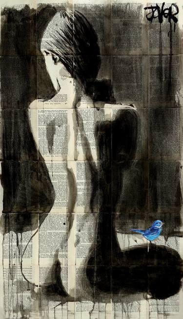 "Saatchi Art Artist Loui Jover; Drawing, ""morning star"" #art"