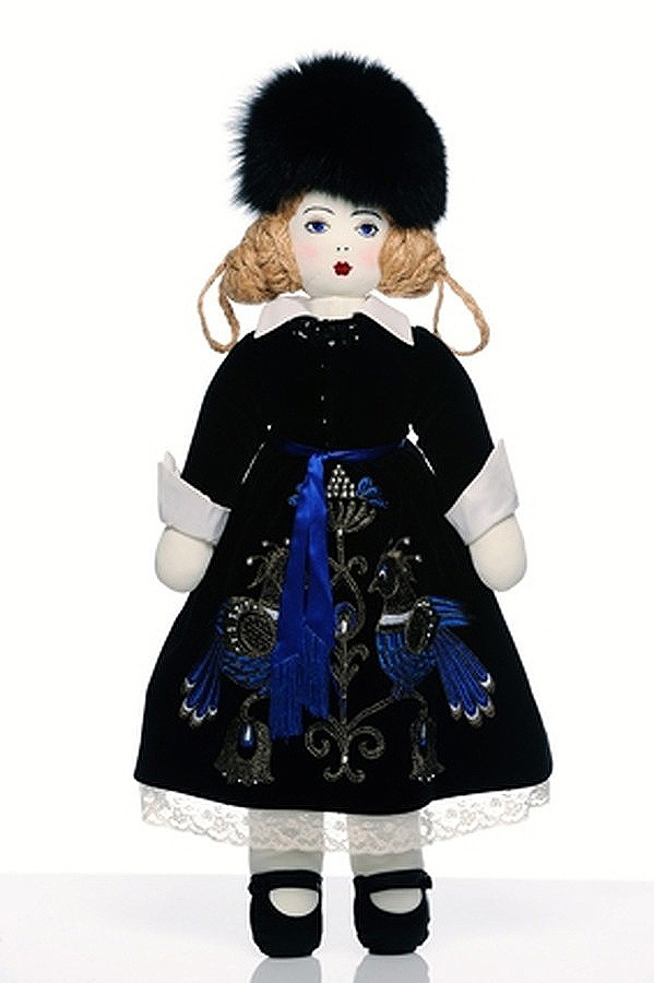 Yulia Yanina Doll For UNICEF's Frimousses Designers for Darfur. #yuliayanina