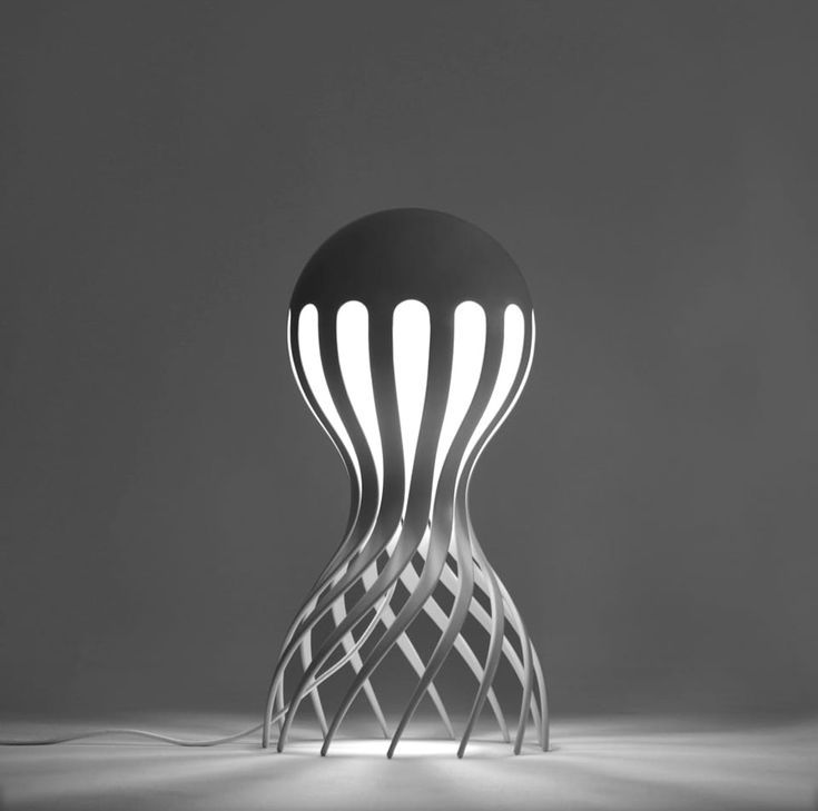 Beautiful Cute Octopus Modern Floor Lamp #3DPrinted #Concept #Design #Modern  #Steampunk Cirrata Ideas
