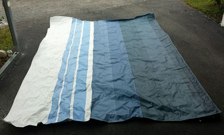 dometic awning fabric replacement instructions