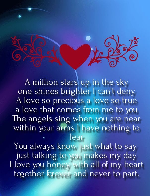 25 best ideas about Romantic poems for him – Valentine Card Poems for Him