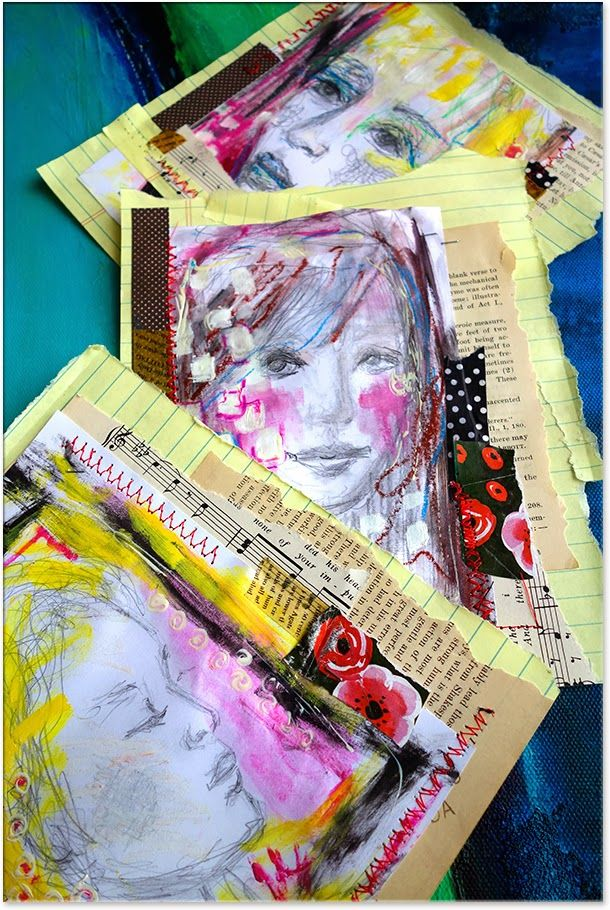 Collage and Sketching Mixture