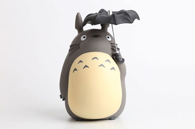 """18.99$  Buy here - http://alirdh.shopchina.info/go.php?t=32683567262 - """"Miyazaki Hayao Anime Cartoon Totoro with Umbrella PVC Action Figure Collectible Toy Doll 8"""""""" 20CM Christmas Gifts For Children""""  #aliexpress"""