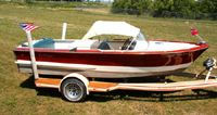 17' Chris Craft Custom Ski Boat