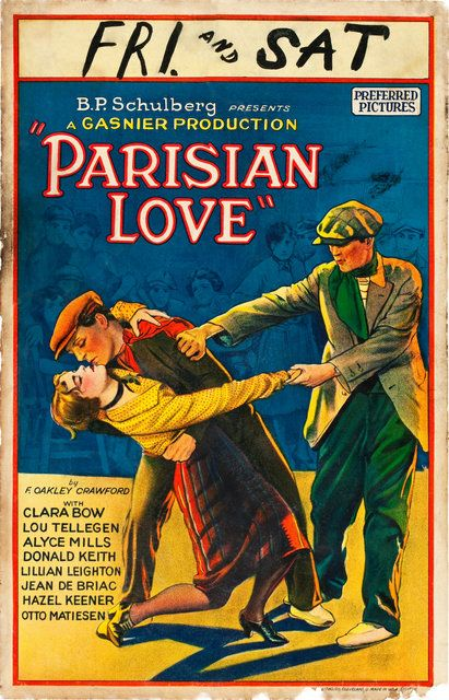 Clara Bow in Parisian Love 1925
