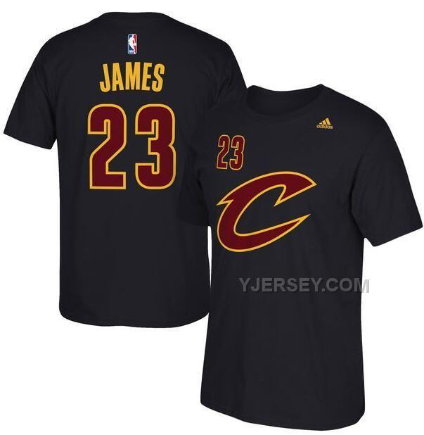 03179b3f15b ... Finals Patch Black Fashion Jersey Mens Cleveland Cavaliers LeBron James  adidas Black Net Number T-Shirt ...